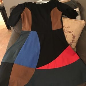 Boden Colorblock Dress